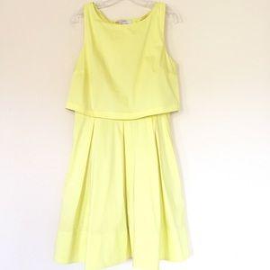 Loft Lemon Dress